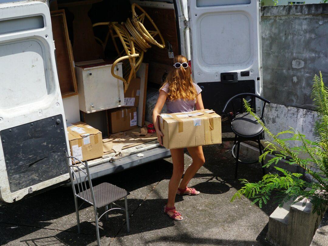 transport lors d'un déménagement